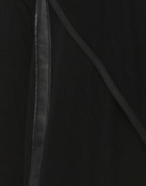 Elaine Kim - Rainsi Black Jersey Jacket