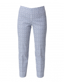 Monia Blue Dot Stretch Pant