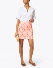 Gretchen Scott - Pink and Orange Printed Skort