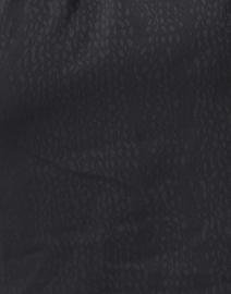 Brochu Walker - Denise Black Animal Jacquard Shirt Dress