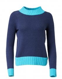 Lite Brite Navy Cotton Cashmere Sweater