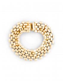 Gold Mesh Bracelet