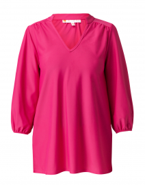 Nadia Pink Ruched Top