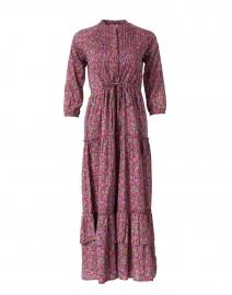 Bazaar Boysenberry Floral Cotton Voile Maxi Dress