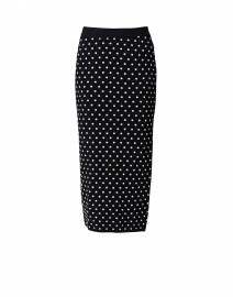 Rome Polka Dot Knit Midi Skirt