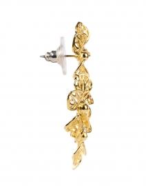 Jennifer Behr - Adela Gold Three Flower Drop Earrings