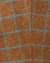 Smythe - Toffee and Blue Windowpane Birkin Blazer
