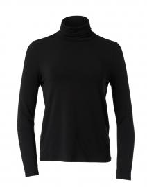 Black Fine Stretch Jersey Top