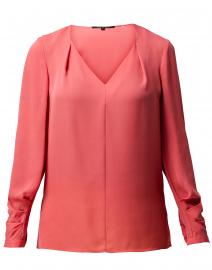 Marissa Pink Silk Blouse