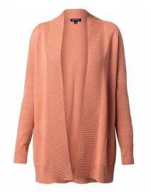 Dusty Coral Cotton Cardigan