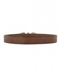 T.ba - Tzar Khaki Leather Belt