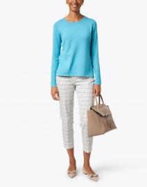 J'Envie - Lake Blue Viscose Sweater