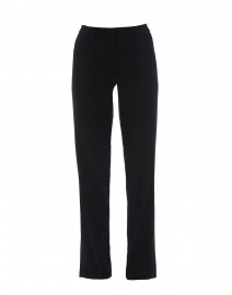 Morgan Wide Leg Trouser with Side Satin Inset