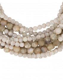 Fairchild Baldwin - Marcella Dove White and Grey Stone Necklace