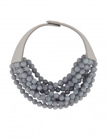 Bella Smokey Cornflower Necklace