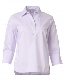 Aileen Lilac Cotton Shirt