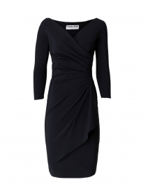 Charisse Black Stretch Jersey Dress