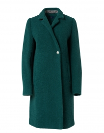 Agnes Forest Green Wool Coat