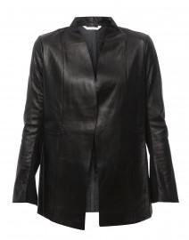 Rufus Black Clean Leather Jacket