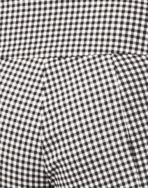 Elliott Lauren - Black and White Gingham Control Stretch Pull-On Pant