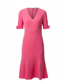Laney Pink Stretch Crepe Dress