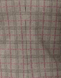 Weekend Max Mara - Caracas Plaid Print Cotton Knit Blazer