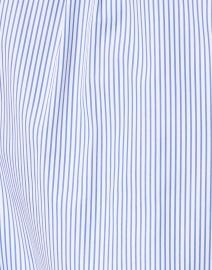 Escada Sport - Nady Blue and White Pinstripe Cotton Poplin Shirt