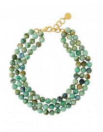 Nest - Chrysocolla Pale Green Necklace