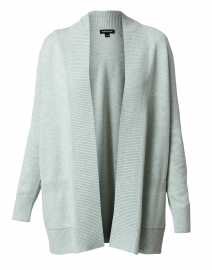 Jade Green Cotton Cardigan