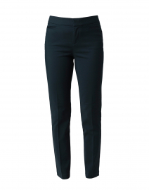 Madison Forest Green Cotton Power Stretch Pant