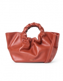 Mini Los Angeles Terracotta Smooth Leather Bag