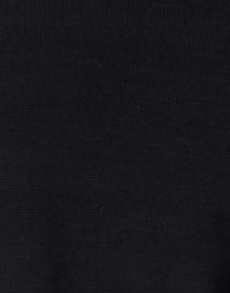 Peace of Cloth - Black Cotton Cashmere Top