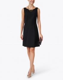 Lafayette 148 New York - Cassie Black Wool Sheath Dress