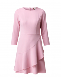Tasha Pink Crepe Dress
