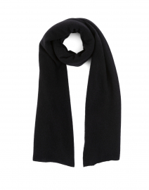 Black Cashmere Mini Travel Wrap