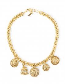 Romulus Gold Coins Necklace