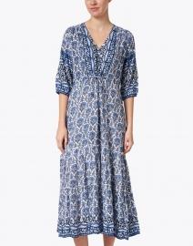 Walker & Wade - Carrie Navy Printed Midi Dress