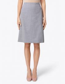 Piazza Sempione - Grey Plaid Pencil Skirt