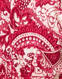 Samantha Sung - Audrey Rose Paisley Printed Stretch Cotton Dress