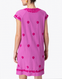 Roller Rabbit - Faith Pink Embroidered Cotton Dress