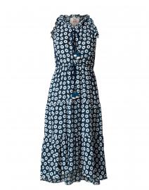 Gabriella Navy and White Dot Print Dress