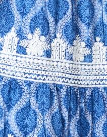 Roller Rabbit - Pamela Blue Danu Block Print Dress