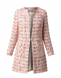 Edge to Edge Vibrant Multicolored Tweed Jacket