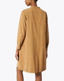 Rosso35 - Camel Corduroy Dress