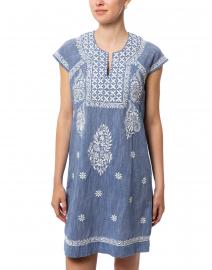 Roller Rabbit - Faith Chambray Blue Cotton Dress