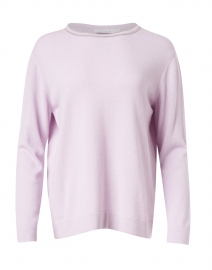 Lilac Wool and Silk Sweater