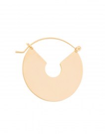 FALLON - Wire Gold Plate Hoops