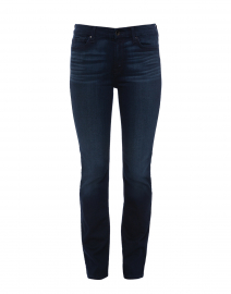 Riche Touch Dark Blue Slim Straight Denim Jean