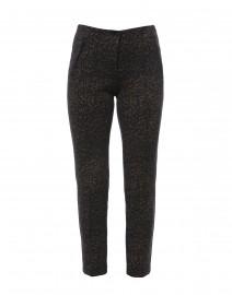 Ros Grey Leopard Printed Pant