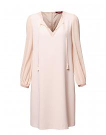 Sicilia Pale Pink Dress with Neck Tie